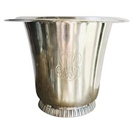 Petite Tiffany & Co Silver Plated Ice Bucket