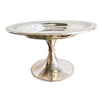 Large Silver Plated Dessert Stand from a Glen Line Steamship