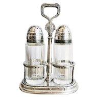 1922 Silver Plated Biltmore Hotel Salt & Pepper Set