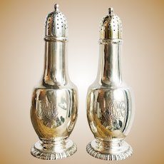 Antique Tiffany & Co Sterling Salt and Pepper Shakers