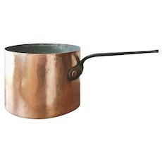 Antique B&O Railroad Copper Pot - 4 Qt