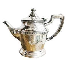 Vintage 1948 Silver Teapot from The Arizona Biltmore