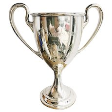 1902 Sterling Silver Yacht Race Trophy