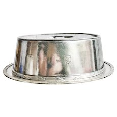 Vintage Silver Platter and Dome Set from The Belmont Hotel Chicago