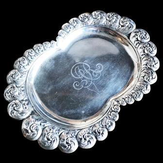 1901 Tiffany & Co Sterling Tray for Alta Rockefeller