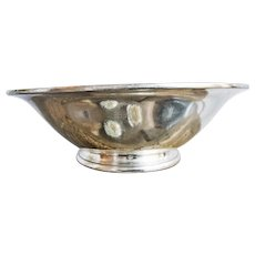 1929 Silver Plated Bowl from Delmonicos New York