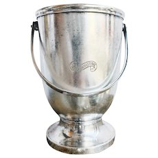 Antique Silver Ice Bucket from The Hotel d'Angleterre