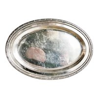 1926 Silver Plated Tray from Matson Line Ocean Liner
