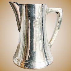 Antique Silver Plated Creamer from United America Line Steamship
