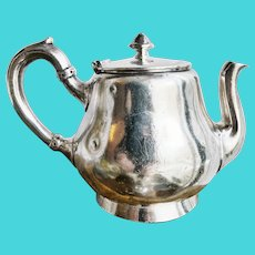 Antique Silver Plated Wagons-Lits Orient Express Teapot