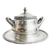 Antique Silver Tureen from Rainier Grand Hotel Seattle