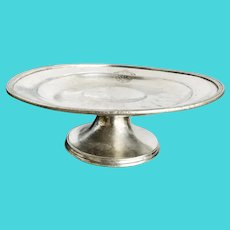 1956 Silver Plated Dessert Stand from The Plaza NYC