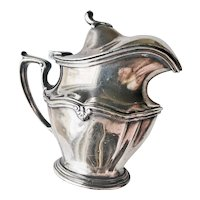 Antique Silver Plated Michigan Central Railroad Creamer
