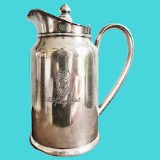 1948 Silver Plated Insulated Pot from The Palace Hotel in San Francisco