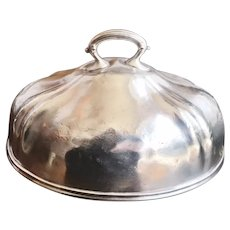 Vintage Silver Plated Dome from Fred Harvey