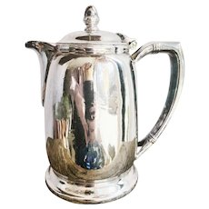 1954 Silver Plated Union Pacific Railroad Teapot