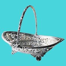 Antique Tiffany & Co Silver Cake Basket