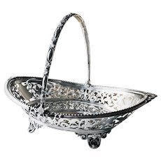 Antique Tiffany & Co Silver Cake Basket