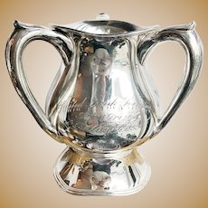 1911 Silver Plated Cleveland Irish Society Trophy