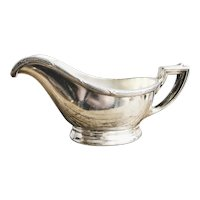 1925 Silver Plated Creamer from The Pullman Company