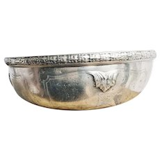 Antique Silver Plated Bowl from Claridge's Hotel Paris