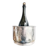 1964 Silver Plated Champagne Bucket from The Ambassador Hotel in Los Angeles