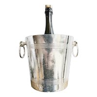 Antique Silver Plated Wagons-Lits Orient Express Champagne Bucket