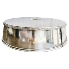 1948 Silver Plated Platter Cover from The St Regis Hotel NYC