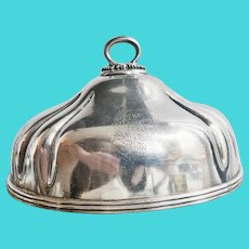 1920s Silver Plated Dome from The Langren Hotel