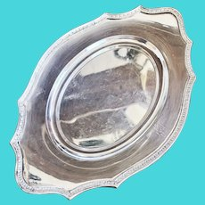1920 Silver Plated Delaware & Hudson Railway Tray