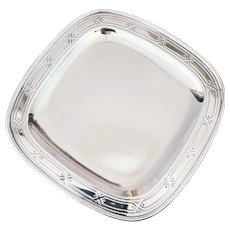 Antique Tiffany & Co Sterling Silver Tray
