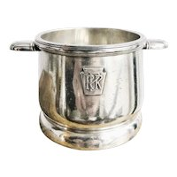 1939 Silver Plated Pennsylvania Railroad Sugar Bowl