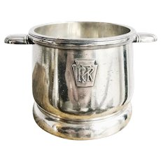 1939 Silver Plated Pennsylvania Railroad Sugar Bowl