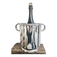 1947 Silver Plated Union Pacific Railroad Champagne Bucket