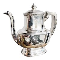 1928 Silver Plated Union Pacific Railroad Teapot