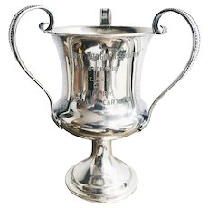 1908 Sterling Silver Missouri Golf Trophy