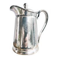 1958 Silver Plated Insulated Pot from The Plaza Hotel in NYC