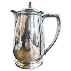 1954 Silver Plated Union Pacific Railroad 64oz Coffee Pot