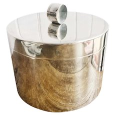 Art Deco Tiffany & Co Silver Plated Ice Bucket