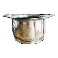 1926 Silver Plated Ice Bucket from Lake Shore Athletic Club Chicago