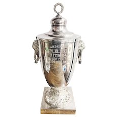 Monumental Victorian Era Boston Horse Racing Trophy