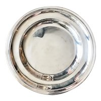 Antique Silver Serving Tray from Grand Hotel du Pavillon Paris