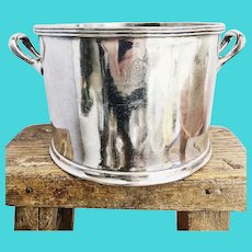 Vintage Silver Champagne Bucket from The Greenbrier Hotel