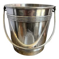 Christofle Silver Plated Ice Bucket from Scribe Hotel Paris