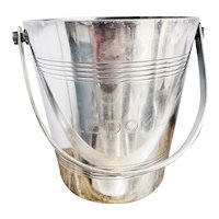 Antique Silver Ice Bucket from Le Dome Paris