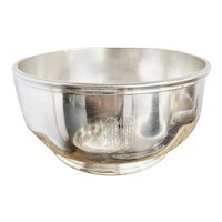 Antique Silver Plated Ice Bowl from Hotel Hershey