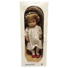 Sasha Baby Blonde Hair In Basket, Or. Box, Never Played With