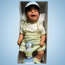 """Harder To Find Lee Middleton Reva Schick """"Surprise"""" Baby Boy With Jack in the Box"""