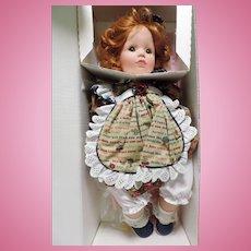 "Susan Wakeen Ltd. Edition 20"" Autumn In Or. Box"