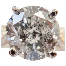 1.56ct. High Color Round Diamond Ring